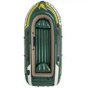 Лодка SEAHAWK 3 295*137*43 (ал.весла 48