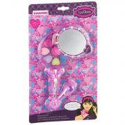 Набор детской декор. косметики Bondibon Eva Moda,  CDR 30,5*18*3 см; косметичка-зеркальце с ручкой,