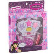 Набор детской декор. косметики Bondibon Eva Moda, BOX 18*14*2,5 см; корона с тенями для век 4 оттенк