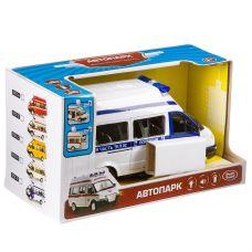 Инерц. пласт. маш. Автопарк Play Smart ,микроавтобус ,M1:29, ВОХ 21,5х10,5х12,1 см, арт.9707-E. grt-В86600 PLAY SMART 924 р. Инерционный транспорт