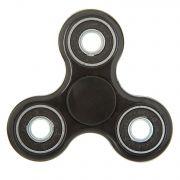 СПИННЕР пластик черный Fidget Spinner-Black color PACK 9х9*1,1 см.