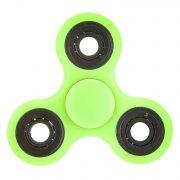 СПИННЕР пластик неон зеленый Neon Fidget Spinner-Green Color PACK 9х9*1,1 см.
