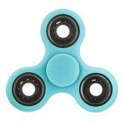 СПИННЕР пластик неон голубой Neon Fidget Spinner-Blue Color PACK 9х9*1,1 см.