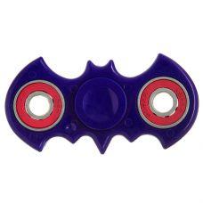 СПИННЕР пластик бэтмен голубой Batman Fidget Spinner- blue Color PACK 9х9*1,1 см. grt-Н86862 243 р. Волчки, спиннеры, юлы, пружинки