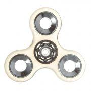 СПИННЕР пластик прозрачный серебро Transparеnt  Fidget Spinner- Silver Color PACK 9х9*1,1 см.