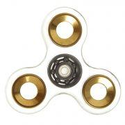 СПИННЕР пластик прозрачный золото Transparеnt  Fidget Spinner- Gold Color PACK 9х9*1,1 см.