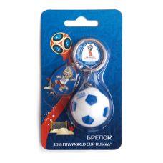 """Брелок """"Мяч"""" 3D ПВХ grt-СН016 FIFA 2018 100 р. Брелоки и подвески"""