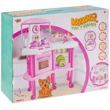 "Набор игровой ""Кухня как у мамы"",свет, звук, работающий кран с водой, ВОХ 47х15х57см, арт. M7069-1. grt-Д87096 YAKO 5 496 р. Кухни, наборы посуды"