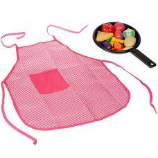 """Набор продуктов со сковородкой и фартуком, """"Моей Малышке"""", в наборе овощи в нарезку, доска, нож; в с grt-Д87111 YAKO 523 р. Кухни, наборы посуды"""