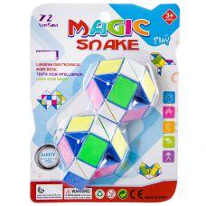 Игрушка пласт. головоломка - змейка, PVC 19х14х3 см, арт. 750-3. grt-Н87090 158 р. Головоломки и логические игры