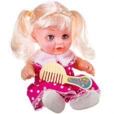 Кукла с хвостиками и расчёской, РАС 21 см, арт.0812-102. grt-Д87083 286 р. Куклы и пупсы классические (нефункциональные)