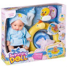 Кукла функц., плавающая в круге, с аксесс., ВОХ, 2 вида, арт. LD9514A. grt-Д87061 1 172 р. Куклы и пупсы со звуком и механизмом (функциональные)