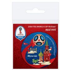 Магнит виниловый Москва grt-СН501 FIFA 2018 18 р. Магниты