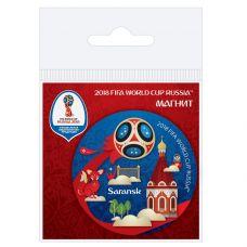 Магнит виниловый Саранск grt-СН510 FIFA 2018 18 р. Магниты
