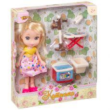 """Кукла Катенька 16,5 см с набором мебели """"Стирка"""", ВОХ 18×5×20 см, арт.M6608. grt-Д87580 YAKO 452 р. Куклы и пупсы классические (нефункциональные)"""