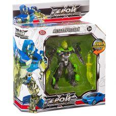 Трансформер мет. машина-робот, Герой перевоплощения Play Smart, ВОХ 32,5х12х5 см, арт. 8173. grt-Л87597 PLAY SMART 724 р. Трансформеры