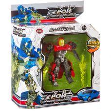 Трансформер мет. машина-робот, Герой перевоплощения Play Smart, ВОХ 32,5х12х5 см, арт. 8175. grt-Л87599 PLAY SMART 718 р. Трансформеры