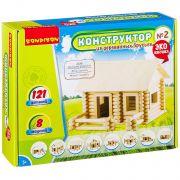 Конструкторы Bondibon Конструктор из деревянных брусьев №2, BOX 26x7x21 см