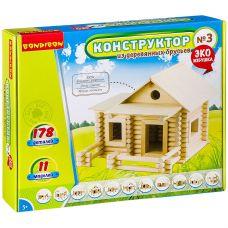 Конструкторы Bondibon Конструктор из деревянных брусьев №3, BOX 35x7x30 см grt-ВВ2603 Bondibon 1 840 р. Bondibon Моделирование из дерева