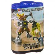 Конструктор-робот Space Warriors в банке 14х9х5 см, 6 видов, арт.998-74.