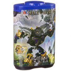 Конструктор-робот Space Warriors в банке 14х9х5 см, 6 видов, арт.998-75. grt-Г87687 171 р. Конструкторы-роботы