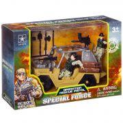 Набор игр. пласт. джип с солдатами Special Force, BOX 10х18,5х28 см,  арт.6631A.