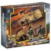 Набор игр. пласт. воен.техника,с оружием и  солдатами Special Force, BOX 10х23х27,5 см,  арт.6632B.