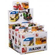 Набор пласт. конструкторов SLUBAN, Builder D/B 8 шт., ВОХ, транспорт 4 вида, арт. M38-B0598.
