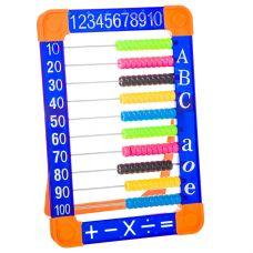 Игр. пласт. счёты, РАС 26х18х2 см, 2 вида, арт.8848. grt-Н87736 218 р. Дидактические игры для малышей