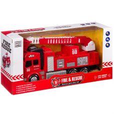 Пожарная машина на бат., ВОХ 27х8х11 см,3 вида, арт.SD-066/7/8. grt-Б87754 725 р. Транспорт на батарейках