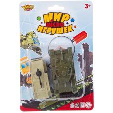 Набор пластм. танк инерц. башня поворачивается, пушка поднимается и опускается и машина без механизм grt-В88734 YAKO 115 р. Инерционный транспорт