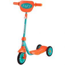 Самокат городской Foxx Baby с пластиковой платформой и EVA колесами 115мм, щиток на руль, мятный grt-115BABY.GN8 FOXX 1 760 р. 100-120мм колеса