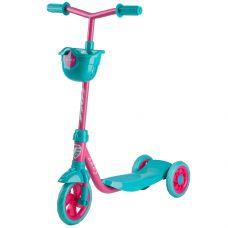 Самокат городской Foxx Baby с пластиковой платформой и EVA колесами 115мм, корзинка, фиолетовый grt-115BABY.PN8 FOXX 1 790 р. 100-120мм колеса