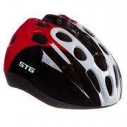 Шлем STG , модель HB5-3, размер  S (48-52 см) Черн/красн/бел