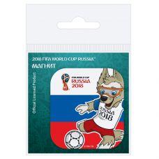 "Магнит картон Забивака ""Удар!"" триколор grt-СН533 FIFA 2018 20 р. Магниты"