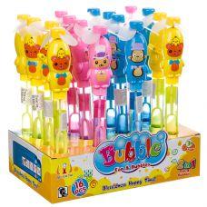 Набор мыльных пузырей, 2в1 вентилятор-игрушка D/B 16 шт. по 35 мл, ВОХ 27,8×7,4×18 см, арт.3612В. grt-Н90149 149 р. Мыльные пузыри, оружие с мыльными пузырями