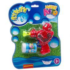 """Пистолет Bondibon """"Наше Лето"""" робот с мыльными пузырями 50 мл, CRD 23х29 см, арт.918. grt-ВВ2774 Bondibon 171 р. Мыльные пузыри, оружие с мыльными пузырями"""