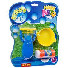 """Пистолет Bondibon """"Наше Лето"""" на батар.с мыльными пузырями 58 мл, CRD 24х29 см, арт. JT713. grt-ВВ2786 Bondibon 196 р. Мыльные пузыри, оружие с мыльными пузырями"""