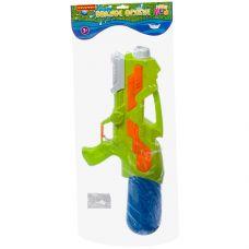 """Водный пистолет с помпой Bondibon """"Наше Лето"""", РАС 25х57х9 см, светло-зелён., арт. 6618. grt-ВВ2853 Bondibon 508 р. Водное оружие"""