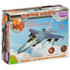 Сборная 4D модель самолёта, Bondibon, М1:165, 18 дет., ВОХ 13х3,6х10,2 см. grt-ВВ2980 Bondibon 99 р. Bondibon 4D-модели