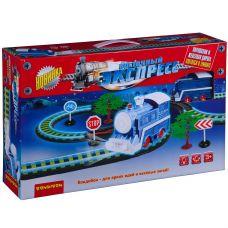 """Железная дорога Bondibon """"Восточный экспресс"""" с одним паровозом, светящаяся в темноте, дл. пути 295 grt-ВВ3002 Bondibon 2 726 р. Железные дороги"""