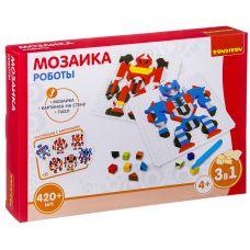 Логические, развивающие игры и игрушки Bondibon Мозаика «РОБОТЫ», 420 дет., BOX 30x4.5x21 см grt-ВВ3030 Bondibon 814 р. Мозаики