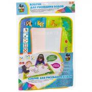 Коврик-водная многоразовая раскраска BONDIBON, ВЕСЕЛЫЙ СЧЕТ, 2 ручки в наборе, 39х29 см.