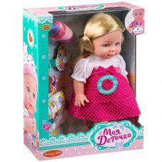 Кукла 36см функциональная (пьёт, писает), озвученная, с аксессуарами,ВОХ 24,5×10,5×35см, арт.M7563-1 grt-Д93323 YAKO 1 381 р. Куклы и пупсы со звуком и механизмом (функциональные)