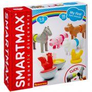 Магнитный конструктор SmartMax/ Bondibon, Мой первый набор животных фермы, 16 дет., арт. SMX 221.