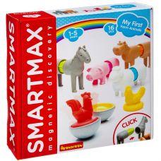 Магнитный конструктор SmartMax/ Bondibon, Мой первый набор животных фермы, 16 дет., арт. SMX 221. grt-ВВ3145 Bondibon 2 365 р. Мой первый Bondibon SmartMax