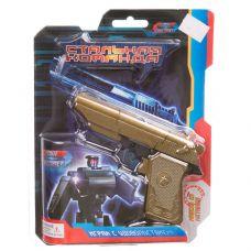 """Трансформер метал.робот-пистолет,серия """"Стальная команда"""",CRD 16,8x21,5x4 см, арт.ZYB-B2743-4. grt-Л93474 ZHORYA 602 р. Трансформеры"""