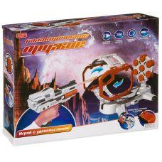 """Игровой набор пистолет на бат.с подвижной мишенью,серия """"Галактическое оружие"""", свет,звук,мягк.патро grt-К93480 ZHORYA 1 708 р. Оружие со звуковыми и световыми эффектами"""