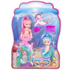 Куклы русалочки 2шт. с расчёсками, CRD , арт. 5016. grt-Д93499 300 р. Куклы модельные (аналоги Барби)