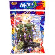 Набор игр.военный с 2 солдатиками и собакой ,серия МиниМаниЯ, РАС 15х23 см, арт.M7594-5.